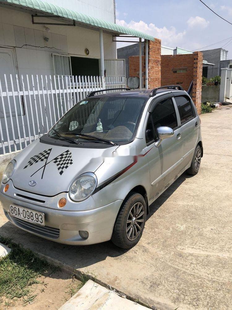 Cần bán lại xe Daewoo Matiz MT đời 2007, màu bạc, nhập khẩu giá cạnh tranh (2)