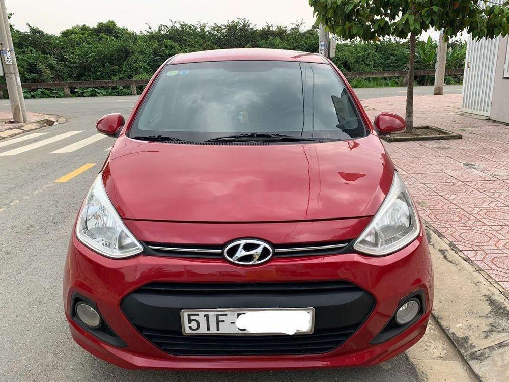 Cần bán Hyundai Grand i10 1.2 đời 2016, màu đỏ, xe nhập xe gia đình (6)
