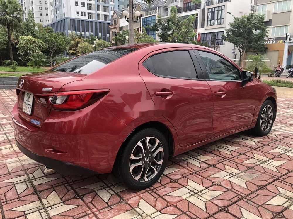 Bán ô tô Mazda 2 AT đời 2015, màu đỏ (5)