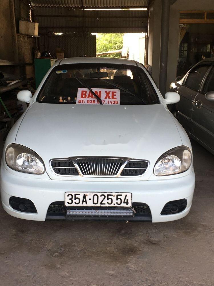 Bán xe Daewoo Lanos đời 2000, màu trắng, giá 50tr (1)