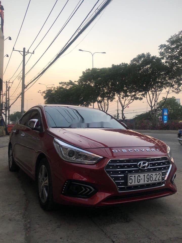 Bán Hyundai Accent năm sản xuất 2018, màu đỏ, nhập khẩu, giá tốt (1)