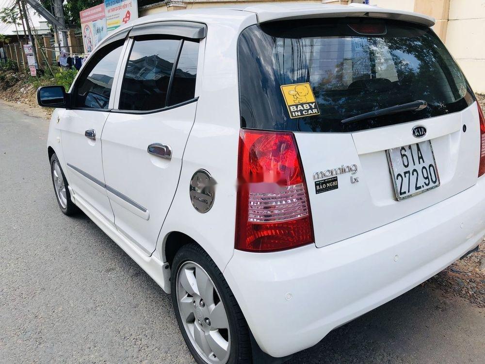 Cần bán gấp Kia Morning 2008, màu trắng, nhập khẩu số tự động, giá tốt (6)