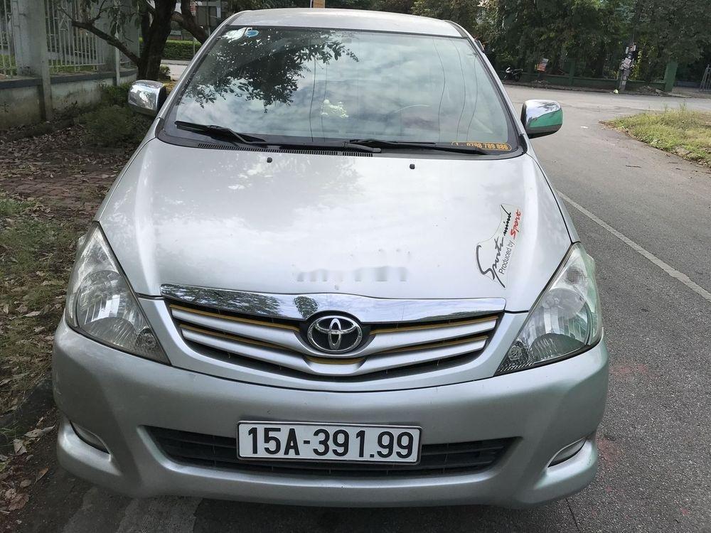 Cần bán Toyota Innova G đời 2010, màu bạc, nhập khẩu nguyên chiếc còn mới, giá chỉ 365 triệu (1)