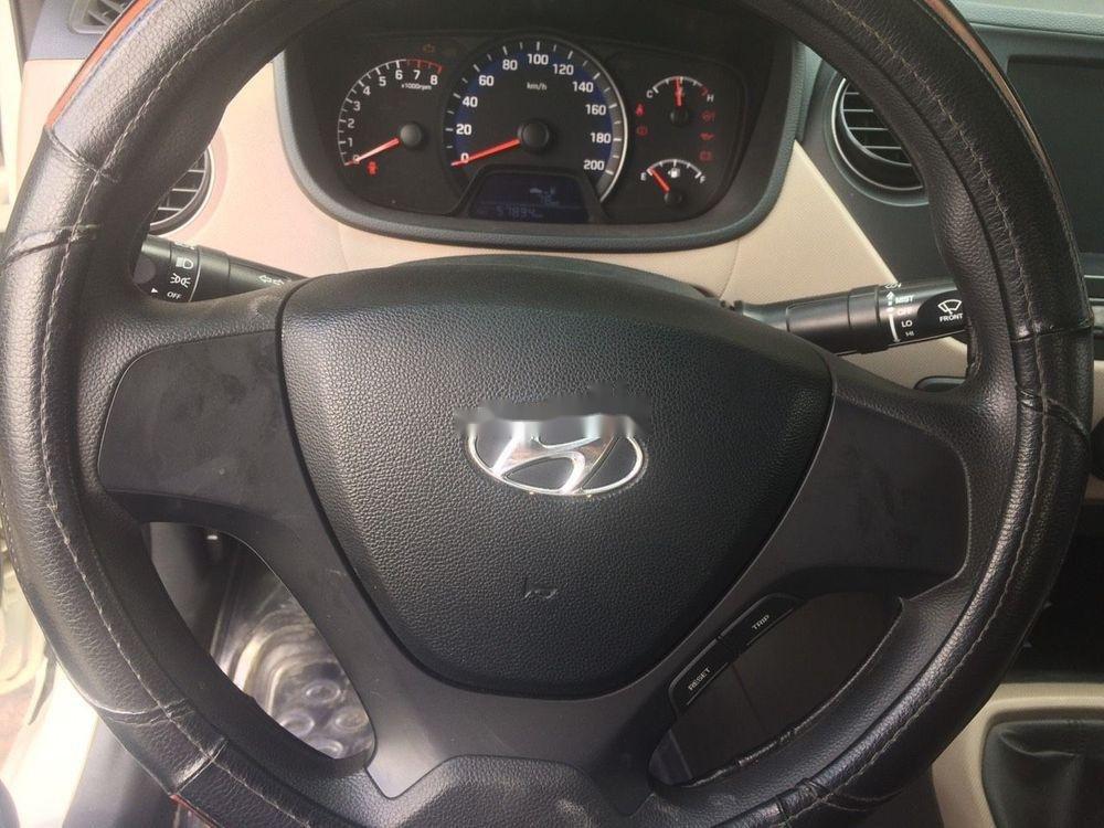Bán Hyundai Grand i10 1.2 MT 2018, màu trắng, giá tốt (4)