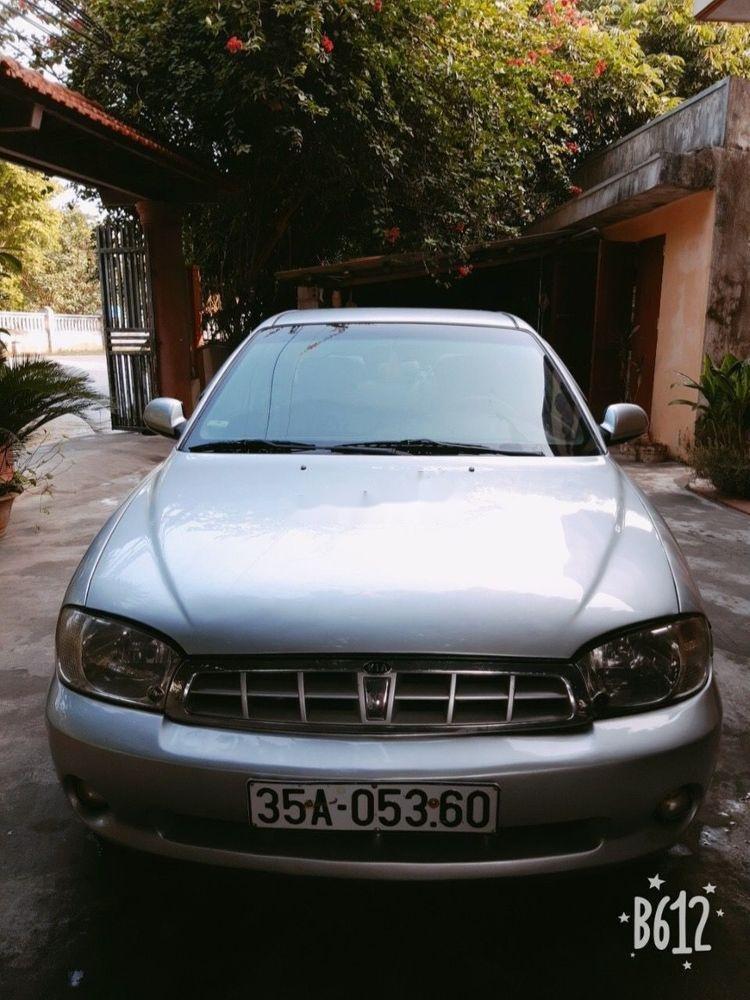Bán xe cũ Kia Spectra sản xuất năm 2004, màu bạc (1)