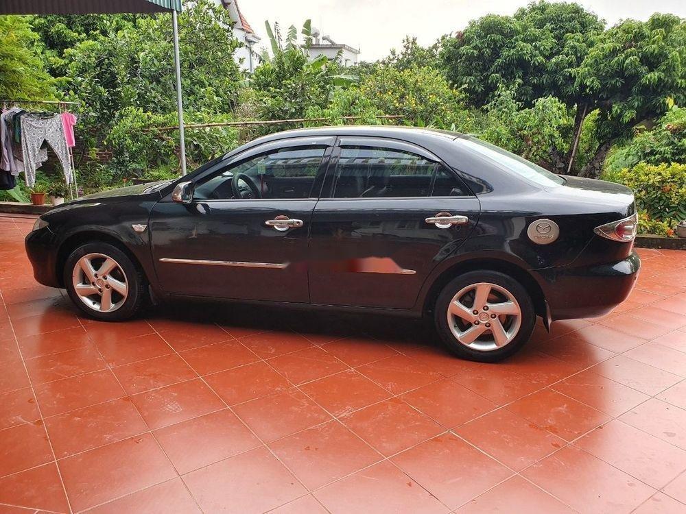 Cần bán xe Mazda 6 đời 2003, màu đen, số sàn, 218tr (7)