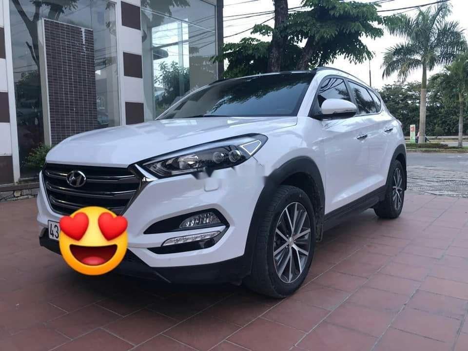 Bán Hyundai Tucson 2.0 2016, màu trắng, nhập khẩu xe gia đình (1)