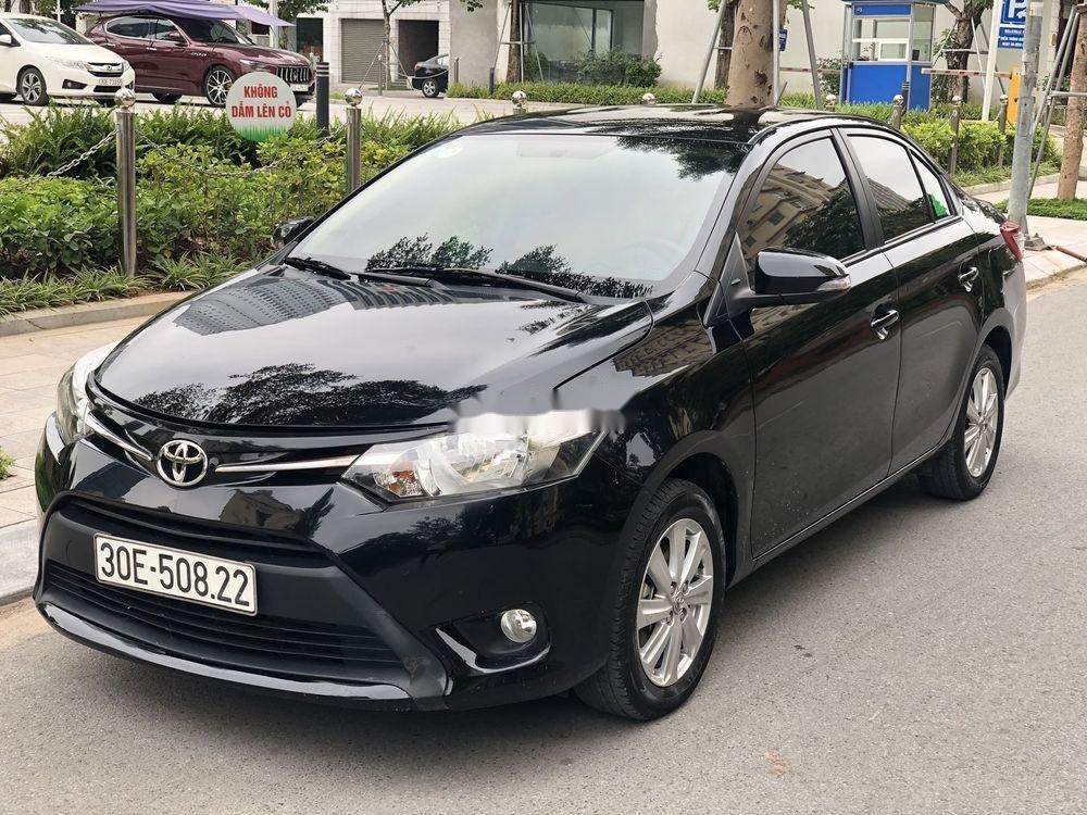 Bán xe cũ Toyota Vios 2017, màu đen số tự động (2)