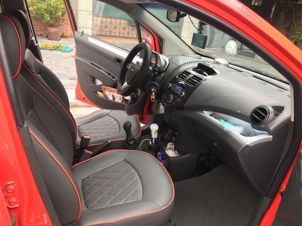 Bán xe Chevrolet Spark năm 2014, màu đỏ, giá 205tr (10)