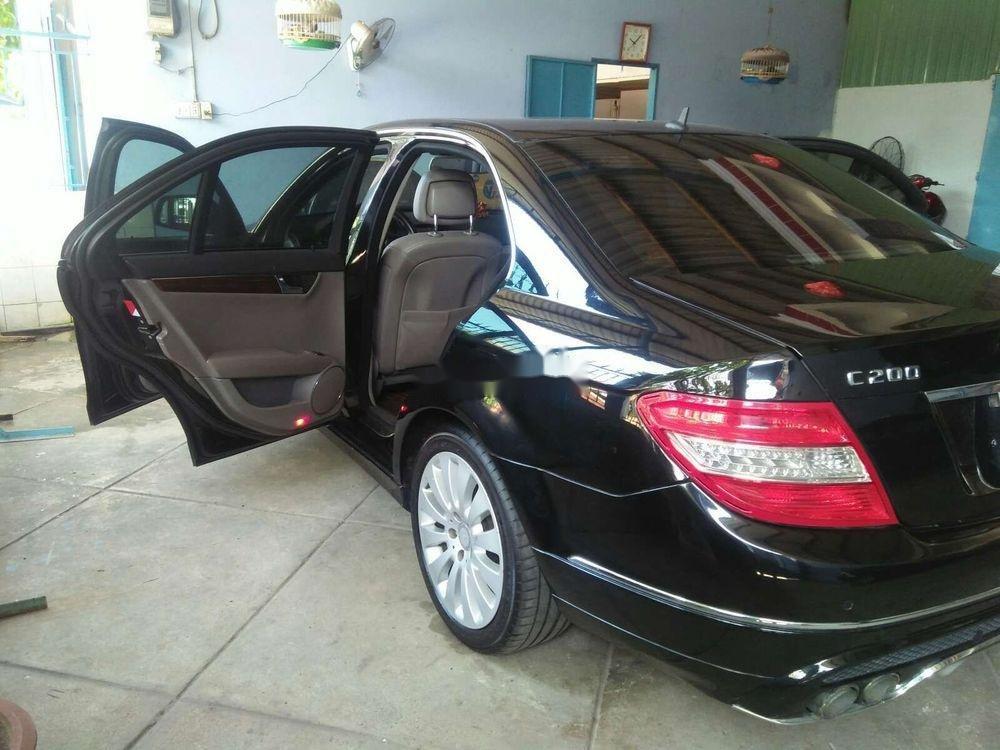 Bán Mercedes C200 2008, màu đen, xe gia đình, 390tr (3)