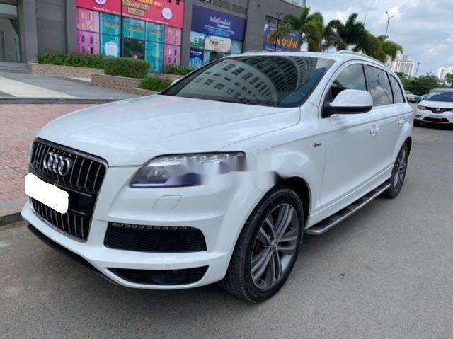 Cần bán lại xe Audi Q7 đời 2011, màu trắng, nhập khẩu nguyên chiếc chính chủ, giá tốt (2)
