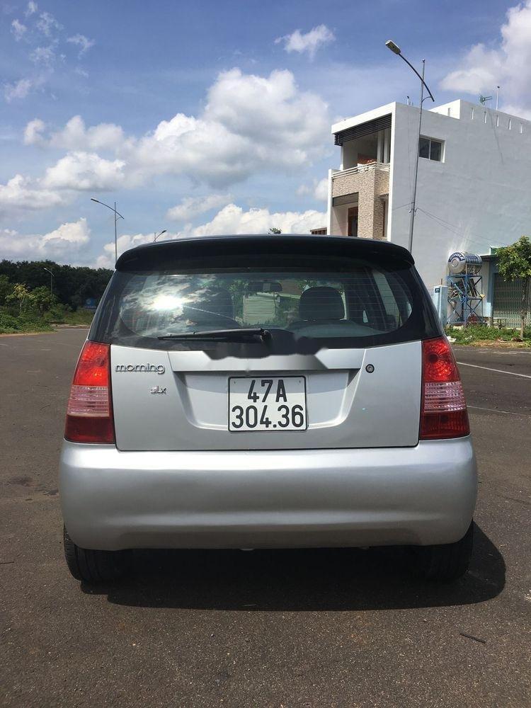 Cần bán gấp Kia Morning 2009, màu bạc, xe nhập số sàn (3)
