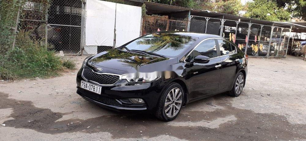 Cần bán Kia K3 năm sản xuất 2014, màu đen (2)