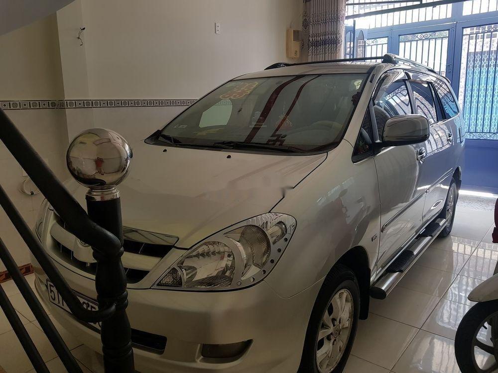 Cần bán Toyota Innova đời 2008, màu bạc, xe gia đình, 330tr (1)
