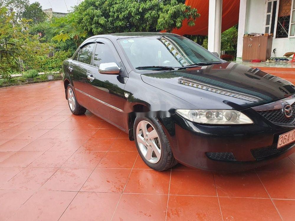 Cần bán xe Mazda 6 đời 2003, màu đen, số sàn, 218tr (3)