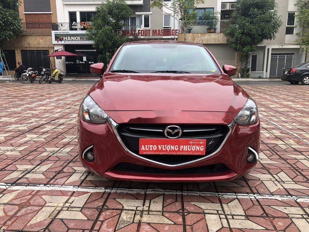 Bán ô tô Mazda 2 AT đời 2015, màu đỏ (1)