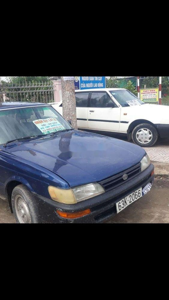 Bán xe cổ sản xuất năm 1981, màu xanh lam, nhập khẩu (2)