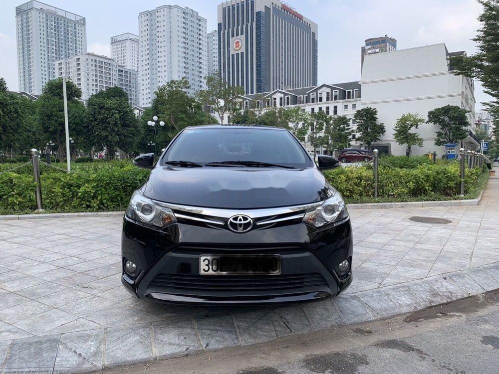 Bán xe Toyota Vios 1.5 G CVT sản xuất 2017, màu đen, giá 505Tr (1)