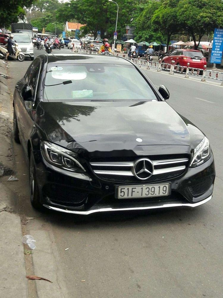 Cần bán Mercedes C250 sản xuất năm 2017, màu đen, nhập khẩu   (1)