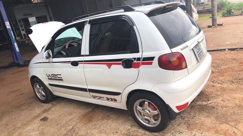 Bán ô tô Daewoo Matiz MT đời 2004, màu trắng (1)
