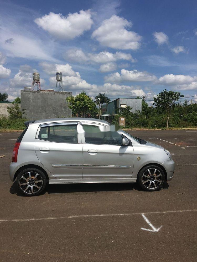 Cần bán gấp Kia Morning 2009, màu bạc, xe nhập số sàn (1)