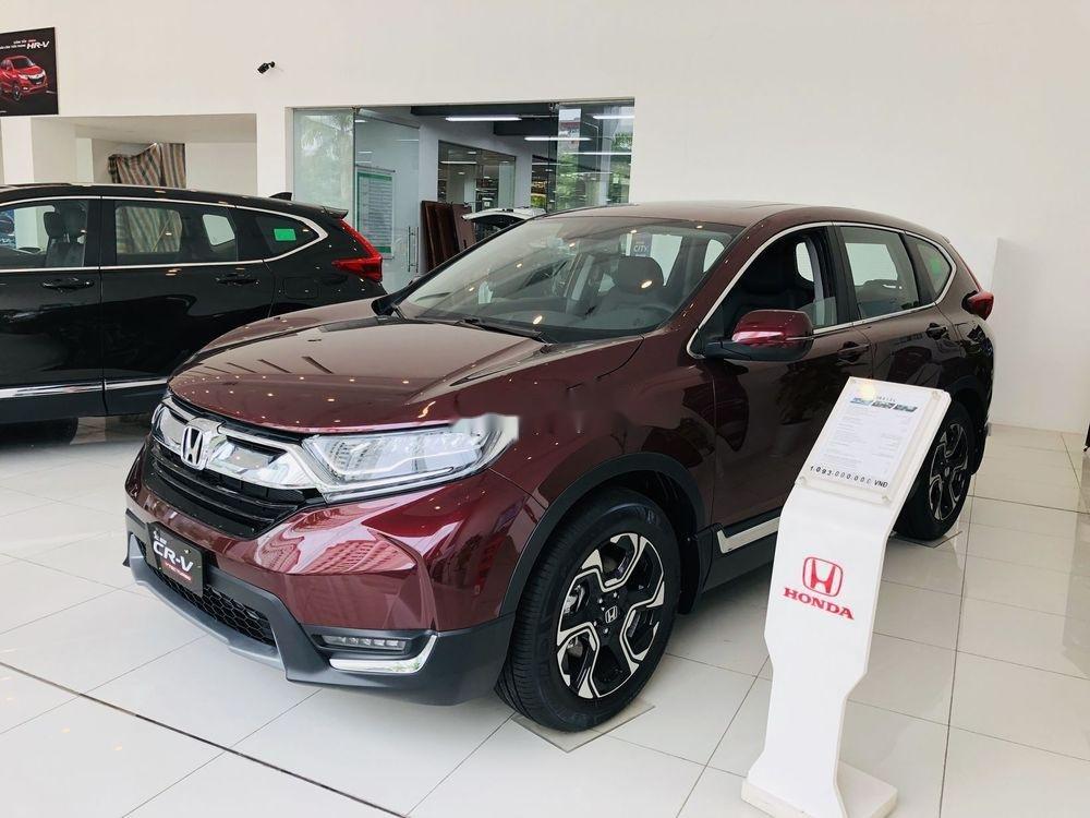 Bán Honda CR V sản xuất năm 2019, màu đỏ, nhập khẩu, 599tr (1)