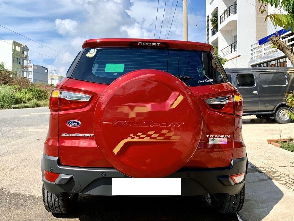 Cần bán xe cũ Ford EcoSport năm 2017, màu đỏ, xe nhập (2)