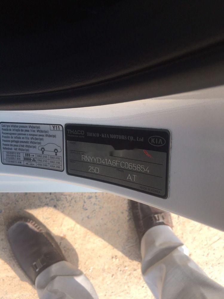 Cần bán gấp Kia K3 1.6AT 2016, màu trắng, nhập khẩu, giá 560tr (2)