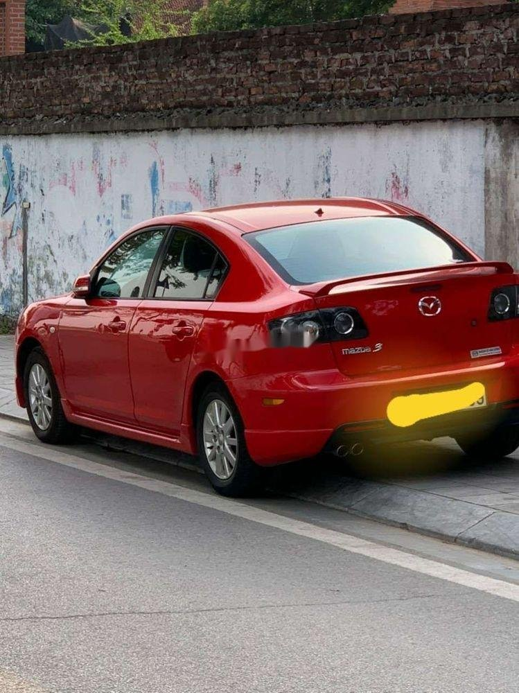Bán xe Mazda 3 AT sản xuất 2009, màu đỏ, xe nhập (2)