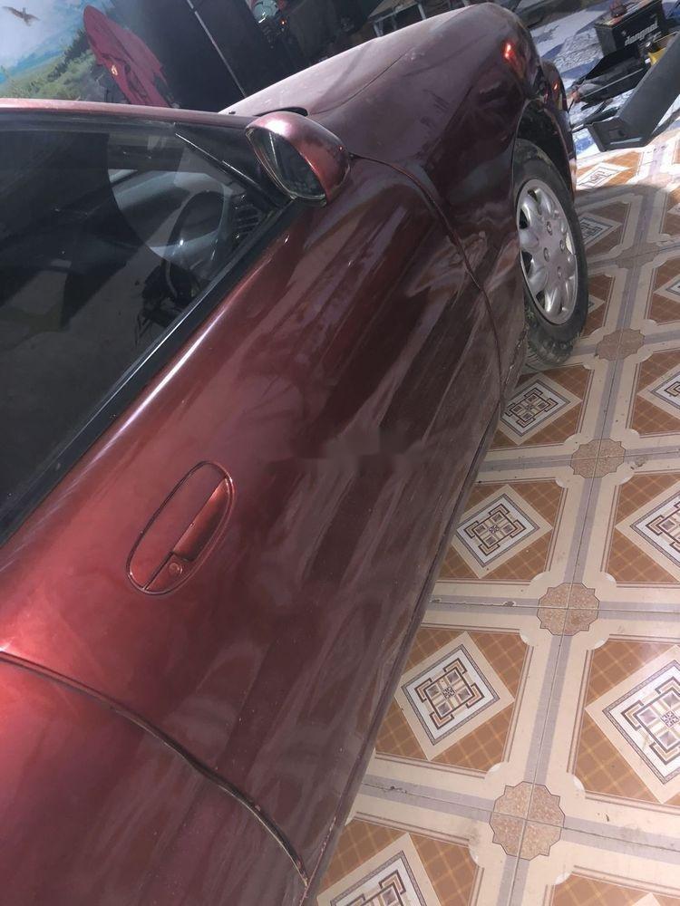 Cần bán xe Daewoo Lanos đời 2001, màu đỏ, nhập khẩu nguyên chiếc (7)