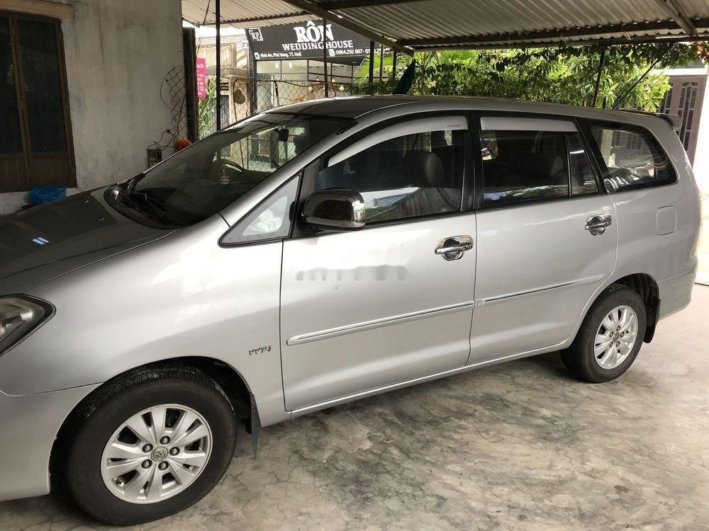 Bán xe cũ Toyota Innova năm sản xuất 2009, màu bạc (1)