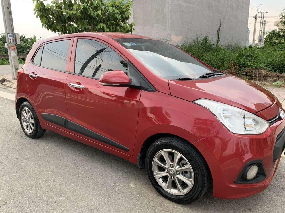 Cần bán Hyundai Grand i10 1.2 đời 2016, màu đỏ, xe nhập xe gia đình (1)