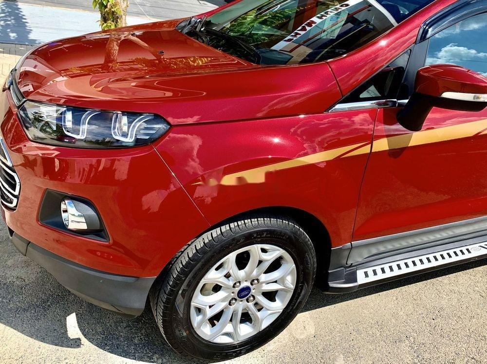 Cần bán xe cũ Ford EcoSport năm 2017, màu đỏ, xe nhập (4)