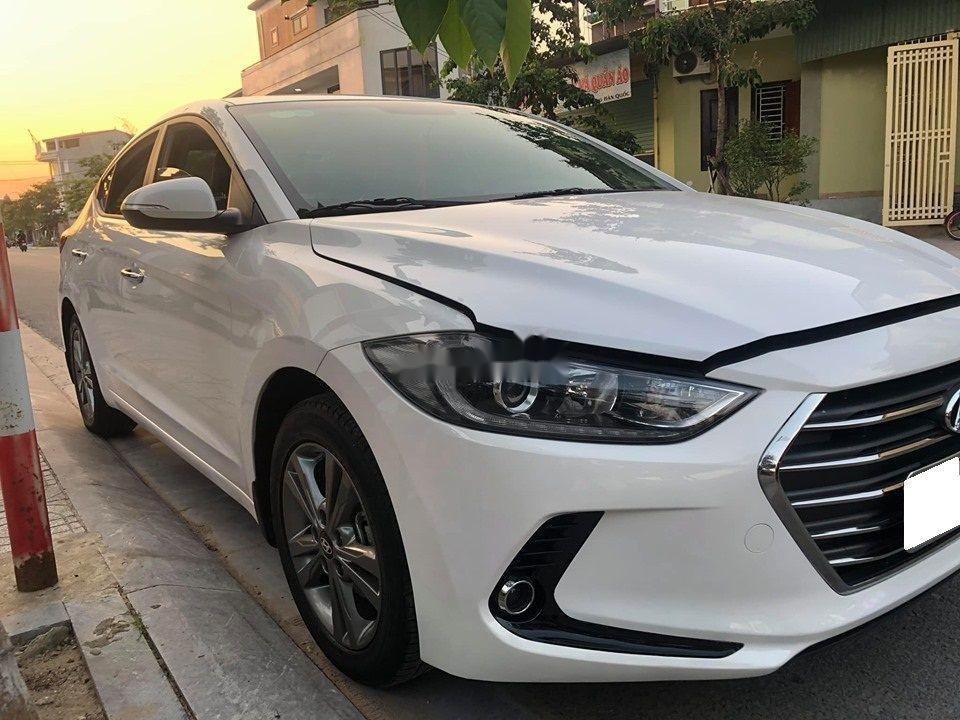 Bán Hyundai Elantra GLS năm sản xuất 2016, màu trắng số tự động  (3)