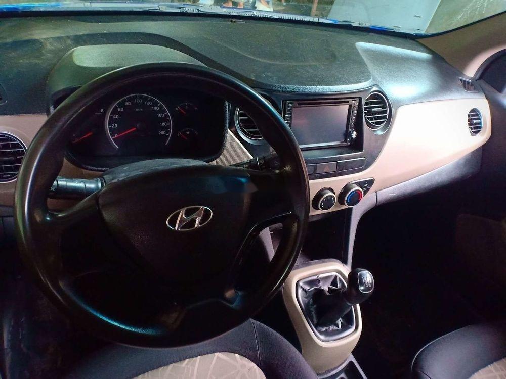Cần bán lại xe Hyundai Grand i10 MT đời 2014, màu xanh lam, nhập khẩu nguyên chiếc  (3)