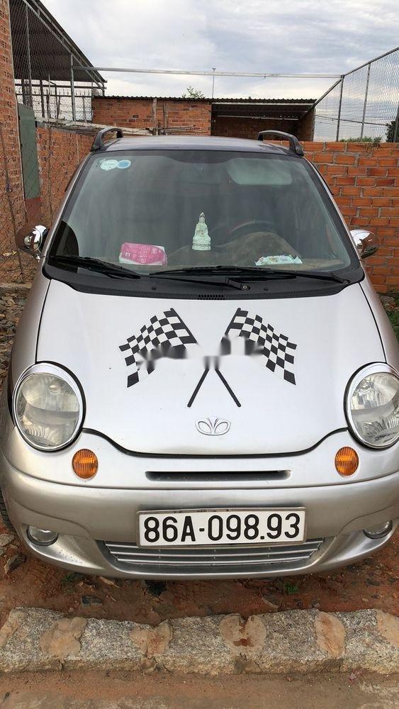 Cần bán lại xe Daewoo Matiz MT đời 2007, màu bạc, nhập khẩu giá cạnh tranh (1)