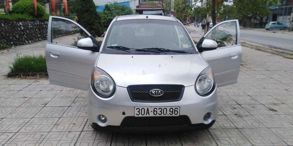 Bán Kia Morning đời 2008, màu bạc, xe nhập (1)