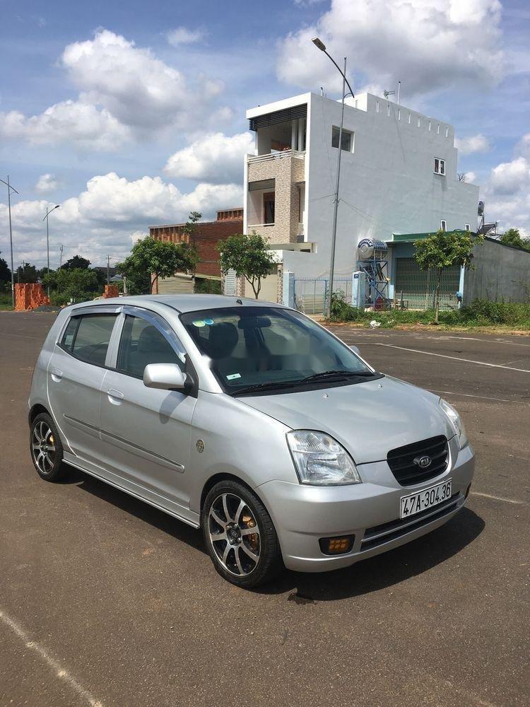 Cần bán gấp Kia Morning 2009, màu bạc, xe nhập số sàn (5)