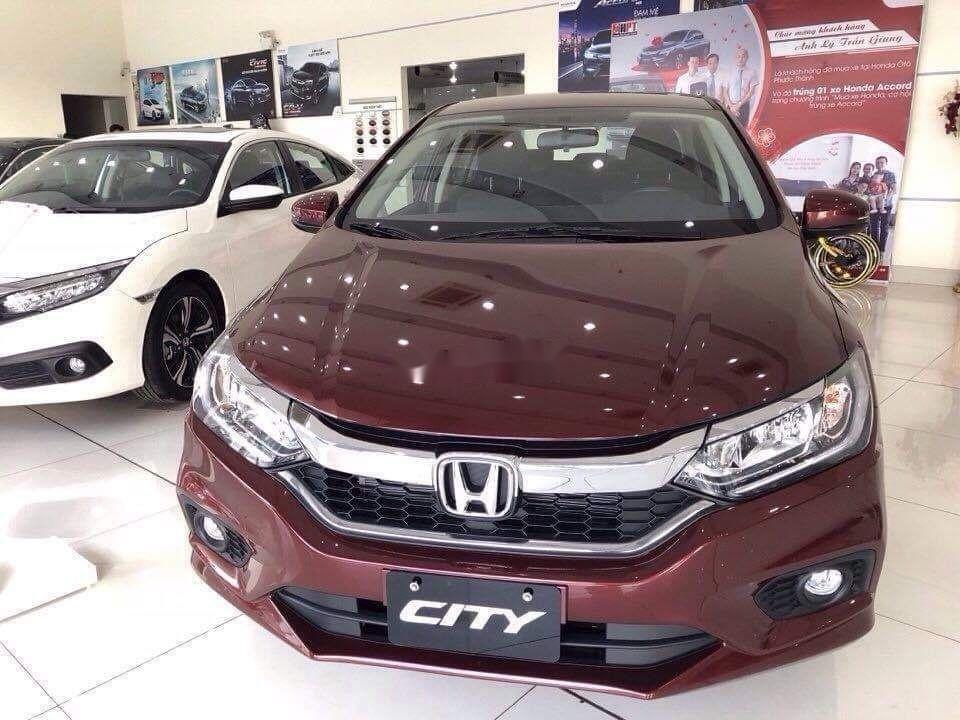 Cần bán xe Honda City sản xuất năm 2019, màu đỏ, 559 triệu (1)