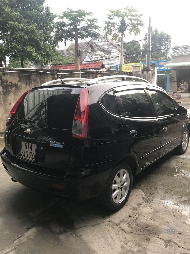 Bán Chevrolet Vivant 2008, màu đen số tự động (3)