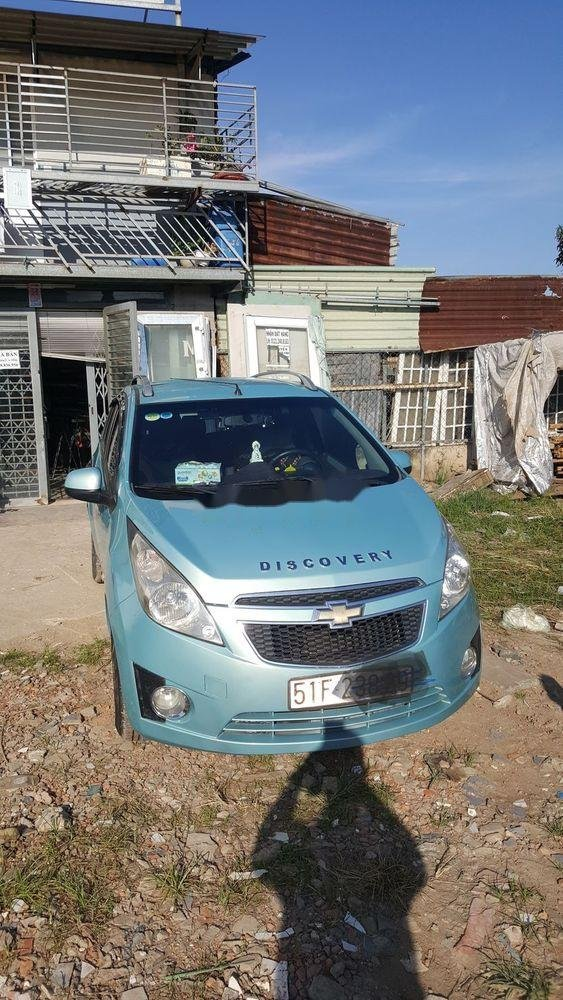 Bán Chevrolet Spark sản xuất năm 2011, màu xanh lam, chính chủ  (1)