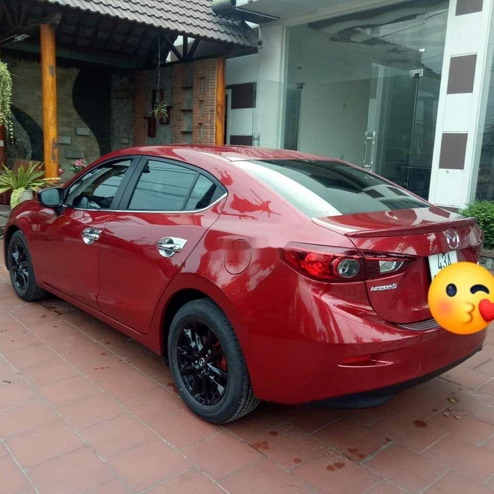 Bán Mazda 3 sản xuất năm 2017, màu đỏ, xe gia đình (2)