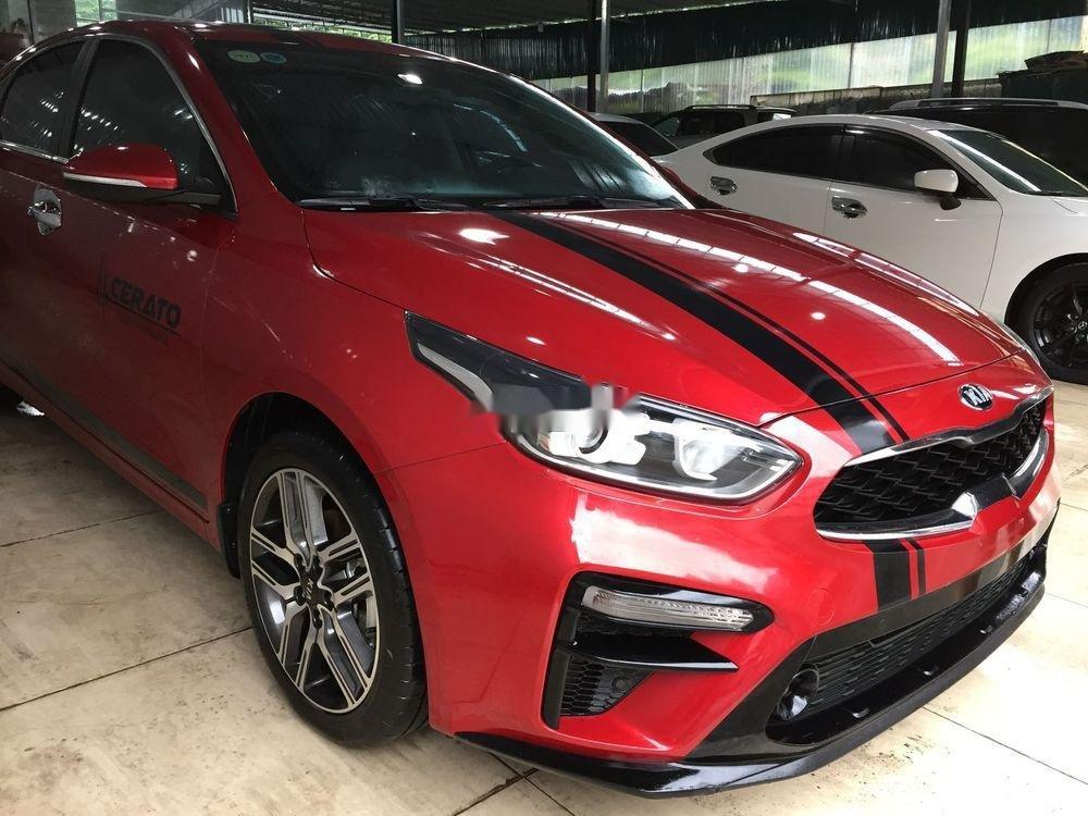 Bán xe Kia Cerato sản xuất năm 2019, màu đỏ, giá chỉ 647 triệu (1)
