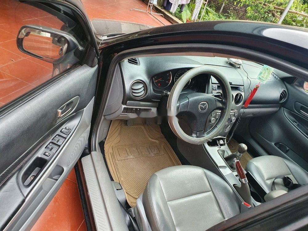 Cần bán xe Mazda 6 đời 2003, màu đen, số sàn, 218tr (4)