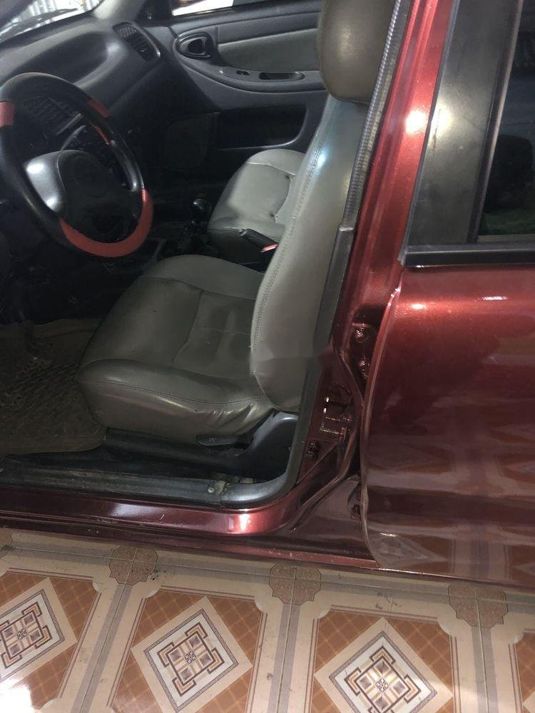 Cần bán xe Daewoo Lanos đời 2001, màu đỏ, nhập khẩu nguyên chiếc (8)
