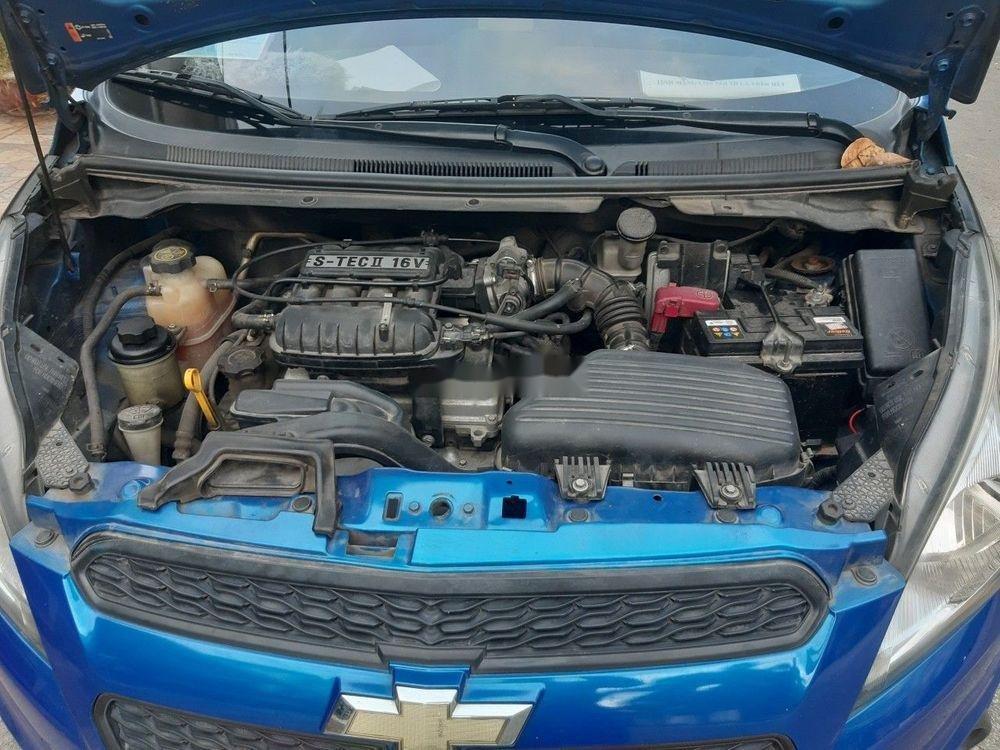 Bán Chevrolet Spark sản xuất 2015, màu xanh lam, 215tr (8)
