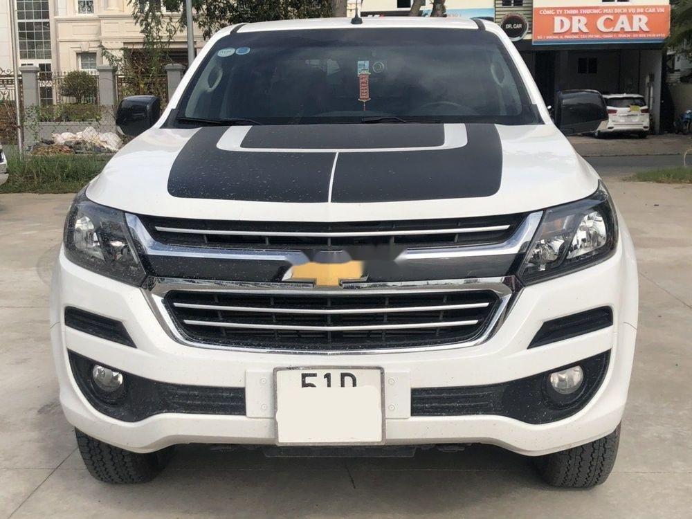 Bán xe Chevrolet Colorado LT 2.5AT đời 2018, màu trắng, nhập khẩu nguyên chiếc số tự động (1)