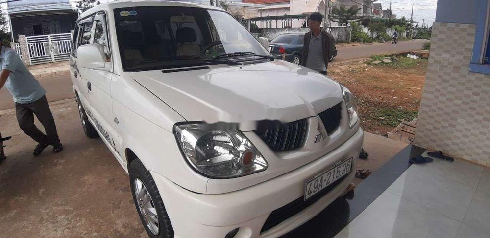 Bán Mitsubishi Jolie MT sản xuất năm 2005, màu trắng, giá chỉ 120 triệu (2)