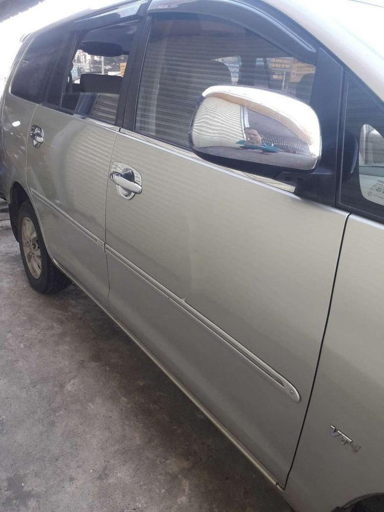 Cần bán Toyota Innova đời 2007, màu bạc, nhập khẩu, xe gia đình (3)