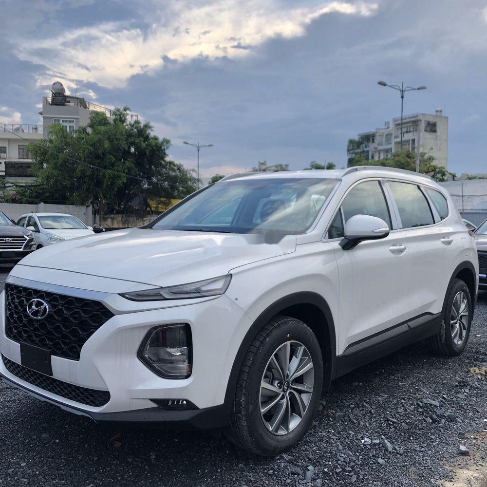 Bán Hyundai Santa Fe năm sản xuất 2019, màu trắng, giá chỉ 995 triệu (3)